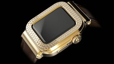 Apple Watch Series 6 Caviar Gold Diamonds