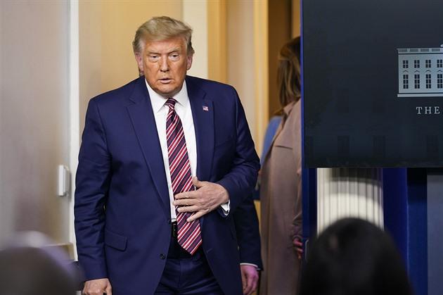 Zázrak, zhodnotil Trump svůj mandát při loučení s prezidentskou funkcí