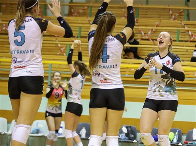 Ostravské volejbalistky jsou v osmifinále Vyzývacího poháru