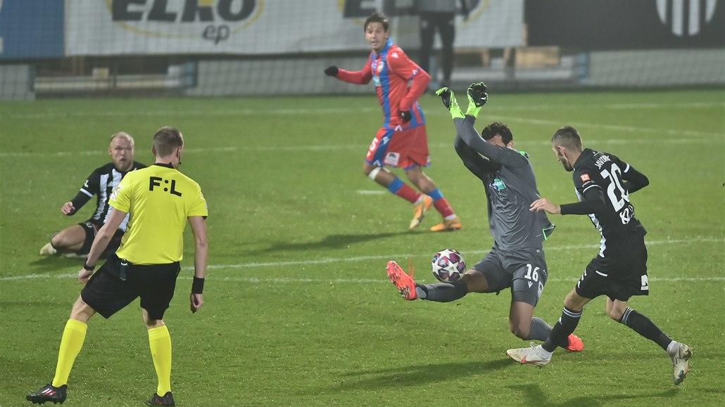 Č. Budějovice - Plzeň 0:0, favorit podruhé škobrtl, znovu nedal gól
