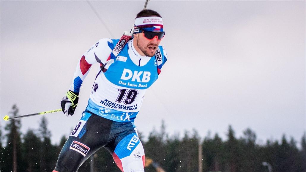 Sprintu v Kontiolahti znovu vládl Bö, tentokrát starší Tarjei. Krčmář desátý