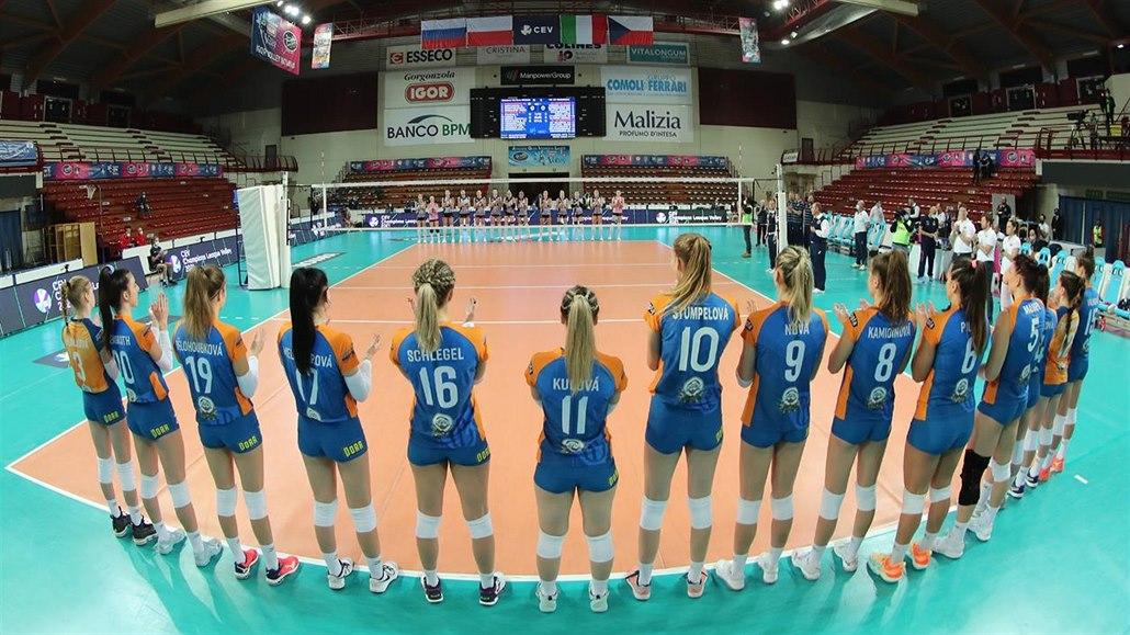 Do třetice 0:3. Olomoucké volejbalistky neuspěly ani proti Kazani