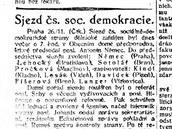 Poprvé bez bolševiků. Českoslovenští socialisté se poprvé sešli bez ruské frakce
