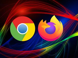 Ilustrace - Chrome a Firefox