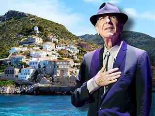 Řecký ostrov Hydra poskytl Leonardu Cohenovi spoustu inspirace pro jeho tvorbu.