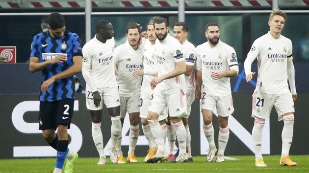 Real Madrid uspěl v Lize mistrů na hřišti  Interu Milán