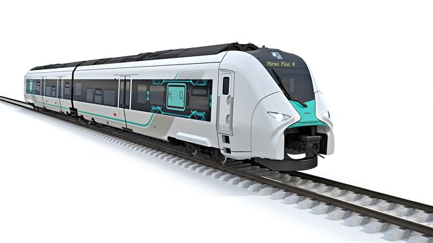 Společnost Siemens ve spolupráci s německými drahami DB vyvíjí vlakovou soupravu Mireo Plus H, poháněnou výhradně vodíkovými palivovými články. (25. listopadu 2020)