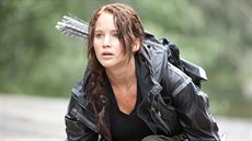 Jennifer Lawrence ve filmu Hunger Games (2012)