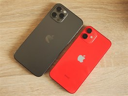 iPhone 12 Pro a iPhone 12 mini