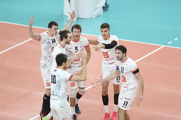 Volejbalisté Karlovarska vyhráli o víkendu i podruhé 3:0 a vedou extraligu