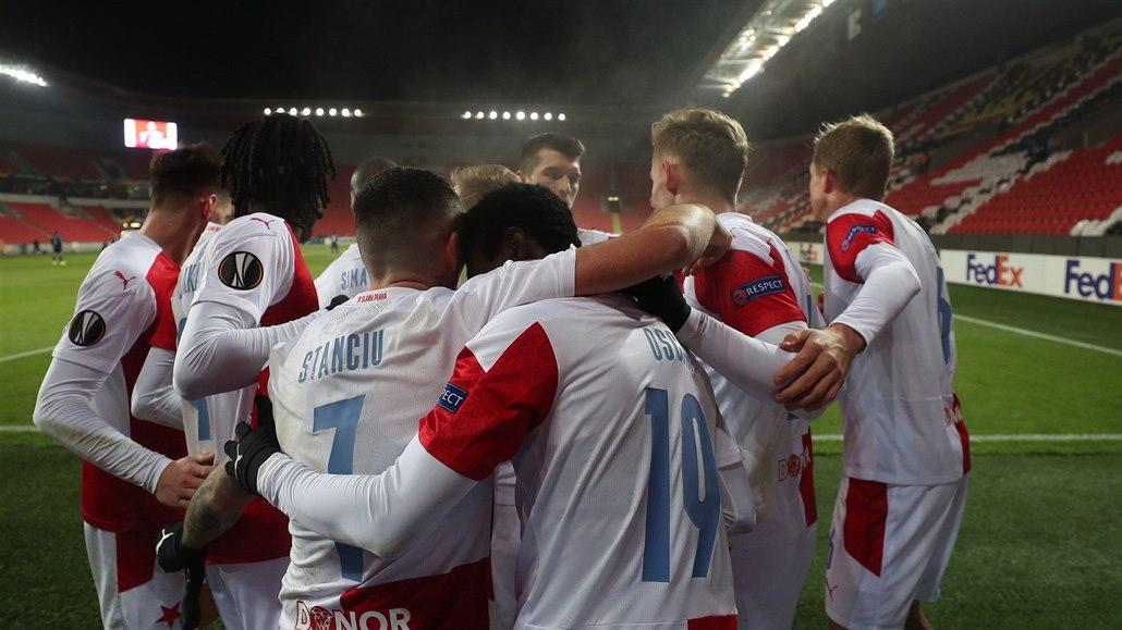 Slavia - Beer Ševa 3:0, český šampion se těší na pohárové jaro, u dvou gólů Sima