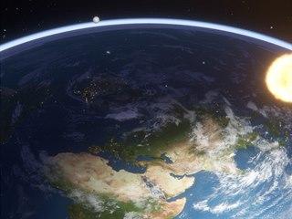 Flat Earth Simulator