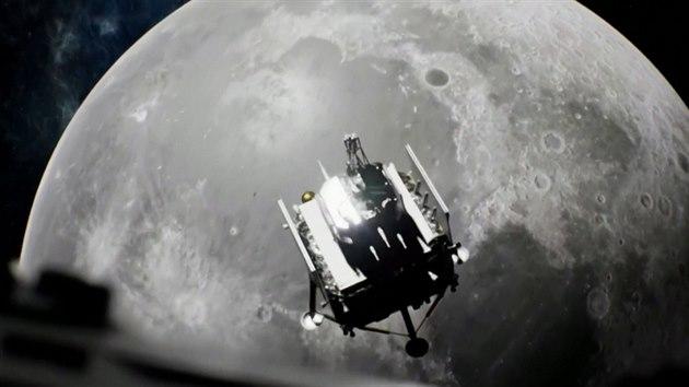 Čína si veze vzorky Měsíce. Na Zemi se dostanou po 44 letech