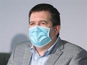 Jan Hamáček na tiskové konferenci ČSSD k národnímu plánu obnovy a aktuální...