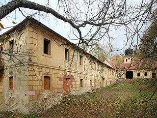 Usedlost Cibulka v pražských Košířích (20. října 2007)