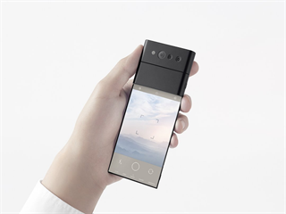 Koncept ohebného smartphonu Oppo