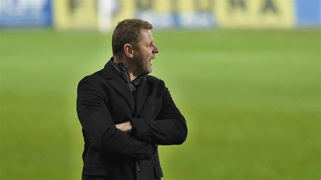 Teplický trenér Radim Kučera po zápase se Slavií