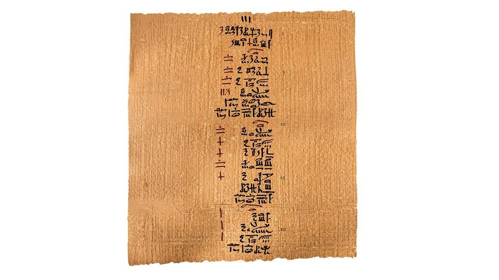 KVÍZ: Znáte starý Egypt? Vyhrajte staroegyptský lékařský papyrus v češtině