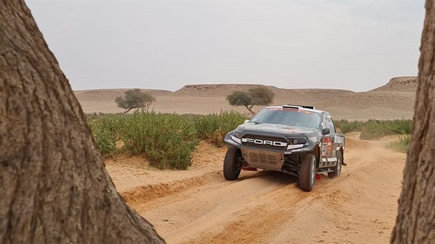 Miroslav Zapletal na Rallye Dakar.