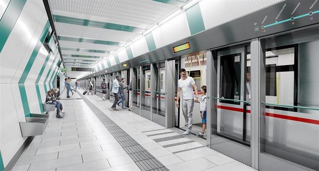 Vídeň je ve stavbě metra bez řidiče rychlejší než Praha