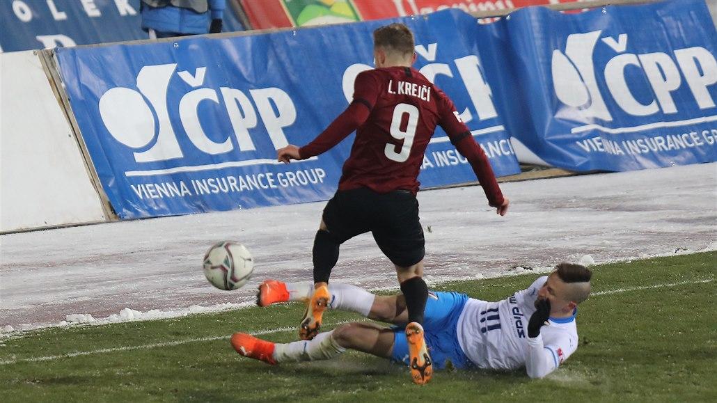 Ostrava - Sparta 0:0, v třeskutém mrazu málo šancí, rozhodnout mohly oba týmy