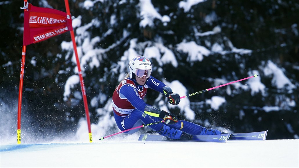 Bassinová vyhrála obří slalom i v Kranjské Goře, v čele střídá Brignoneovou