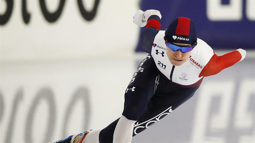 Sáblíková skončila na ME na 3 000 metrů čtvrtá, zůstává ve hře o medaile