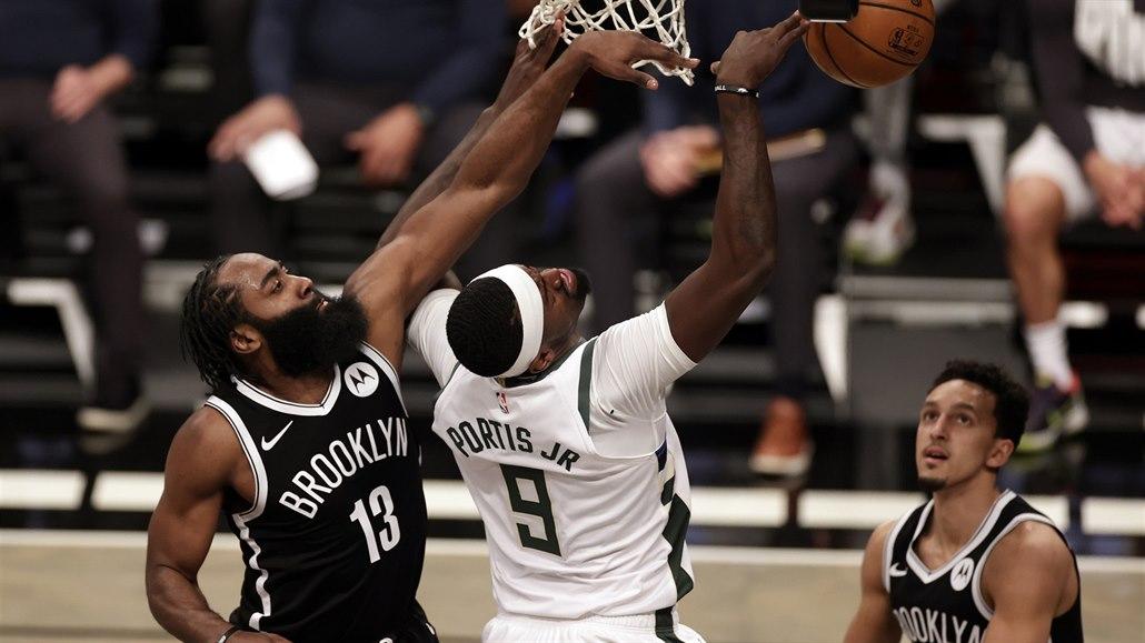 Harden znovu táhl basketbalisty Brooklynu za výhrou a přepisoval historii