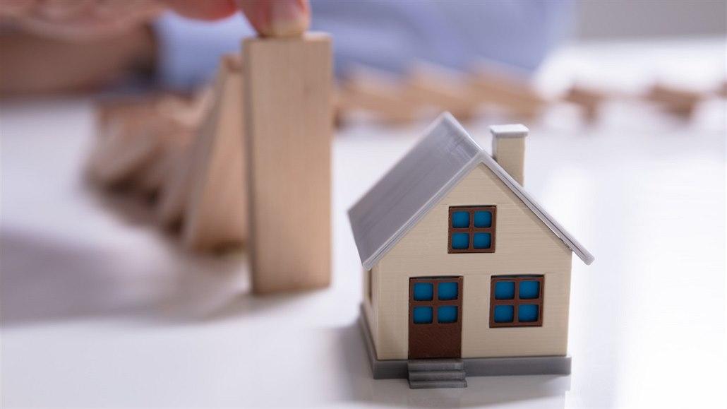 Loňský boom hypotečního trhu v sobě skrývá nejedno riziko