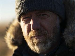 Jiří Langmajer při natáčení filmu Minuta věčnosti