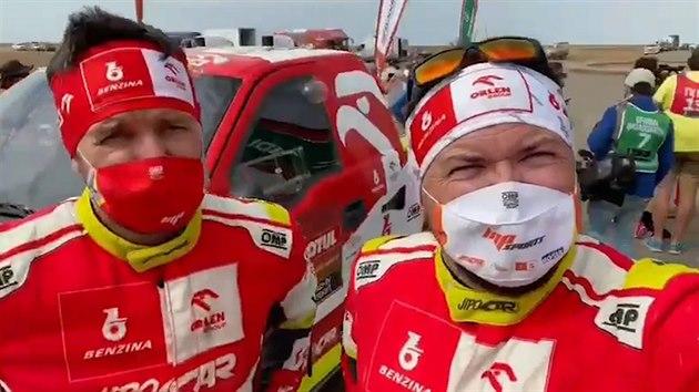 Martin Prokop dokončil letošní Dakar na celkovém devátém místě