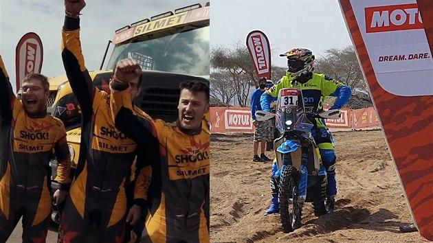 První dojmy účastníků Rallye Dakar po příletu na pražské letiště