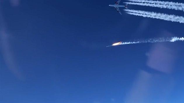 Raketa miliardáře Bransona poprvé dosáhla oběžné dráhy