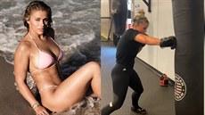Krásná zápasnice MMA nastoupí bez rukavic