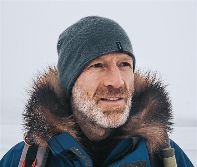 Třeskutá zima je dar, díky ní pak oceníte teplo, říká polárník Borge Ousland