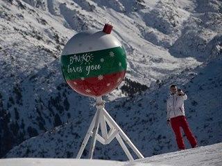 Lyžařské středisko Bansko má k dispozici 70 kilometrů sjezdovek. (20. prosince...