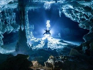 Potápění v jeskynních systémech mexického Yucatánu patří k zážitkům, které si...