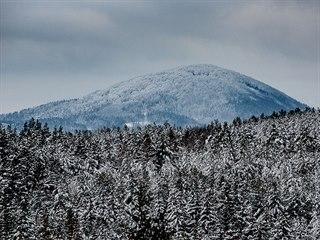 Jezevčí vrch zvyhlídky Havran