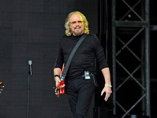 Zpěvák Barry Gibb z kapely Bee Gees