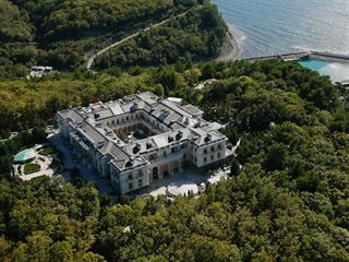 Luxusní vila na pobřeží Černého moře, jež má podle opozičního politika Alexeje...