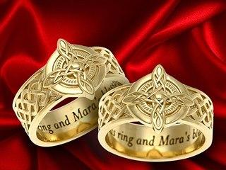 Svatební prsteny inspirované hrou The Elder Scrolls Online