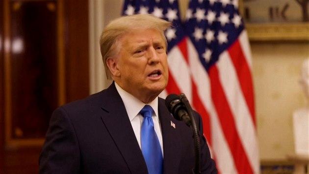 Nezačal jsem žádnou novou válku, chválil se na konci mandátu Trump