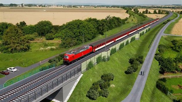Modernizace trati z Brna do Přerova zrychlí vlaky na 200 km/h