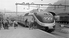 Trans-Europe-Express Helvetia of the German Railways