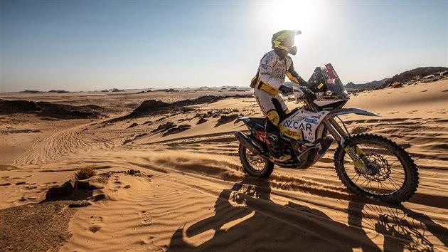 Rudolf Lhotský na Rallye Dakar