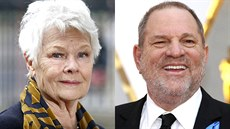 Judi Denchová a Harvey Weinstein