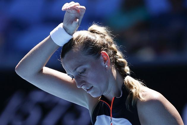 Kvitová přemohla v Dauhá ve třech setech Kontaveitovou a je v semifinále