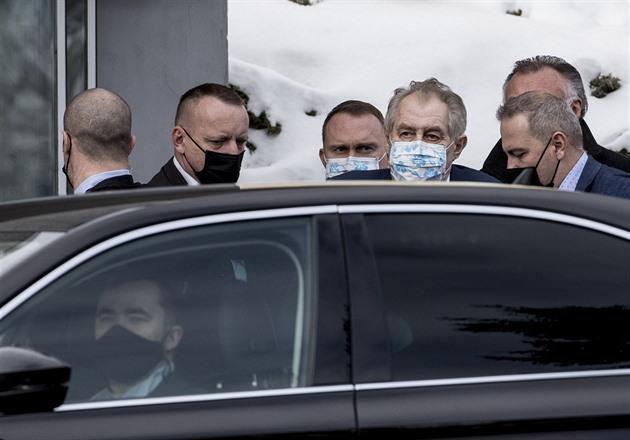 Zeman míří na dvoudenní návštěvu Rakouska. Detaily jednání Hrad neupřesnil