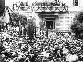Gruzie v seriálu Před 100 lety