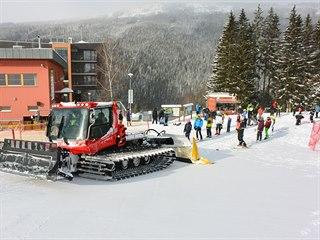 Rolba na Dolní Moravě vyveze nahoru až padesát lidí. Aby se provoz ekonomicky...